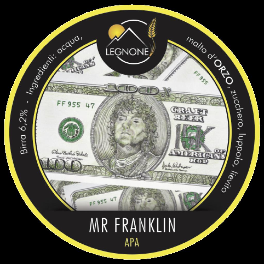 Etichetta Mr. Franklin